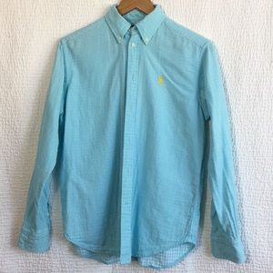 Ralph Lauren men shirt size m in baby blue